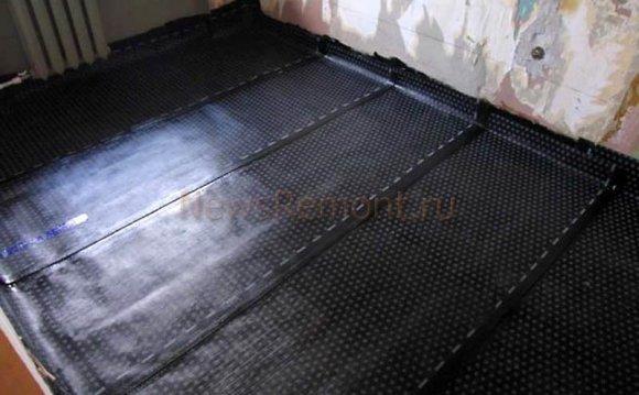 Гідроізоляція підлоги під ванною
