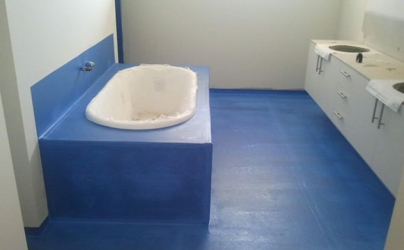 Гидроизоляция стяжки ванной