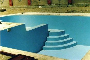 басейн з гідроізоляцією
