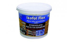 Izofol Flex, дисперсійна гідроізоляційна плівка